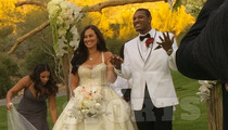 MLB Star Adam Jones -- Marries NFL Star's Daughter ... 1st Wedding Pics
