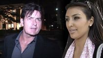 Charlie Sheen Continues Kim K Rant  ... She's 'A Pox on Entertainment'