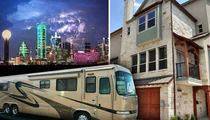Oregon Vs. Ohio State -- Dallas Residents Cashing In ... Rent My RV, Dad's Room, Stripper Pole