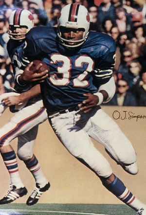O.J. Simpson's Football Photos