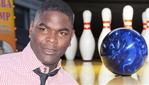 Keyshawn Johnson -- Sued Over Imaginary Bowling Alley