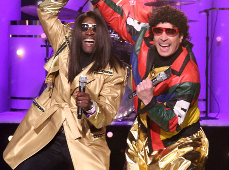 "Jimmy Fallon and Don Cheadle Bring Back the 80's With ""Pleather & Jerry"""