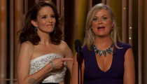 Tina Fey and Amy Poehler -- Because Y'See ... Bill Cosby Jokes Kill at Golden Globe Awards