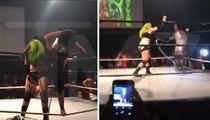 Whitney Houston -- Cracking Into Wrestling (VIDEO)
