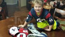 J.J. Watt -- Comes Through With Baller Gifts for 'Most Feared' Fan