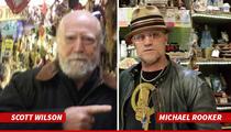 'Walking Dead' Stars Hershel & Merle -- Forget Zombies ... We're Voodoo Curious Now!