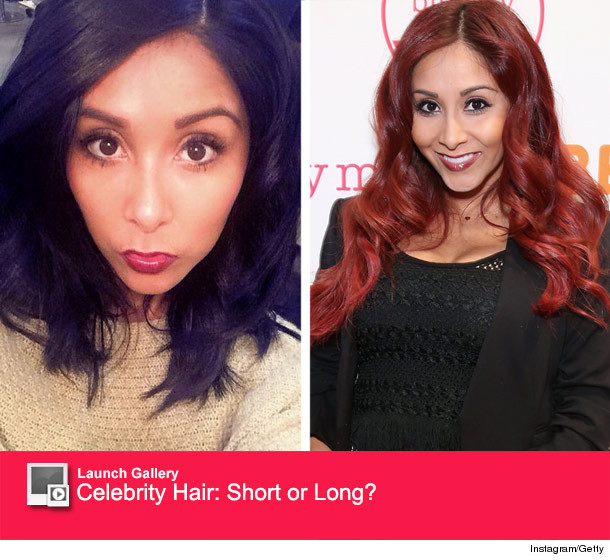Snooki Chops Off Her Hair Goes Back To Black Toofab