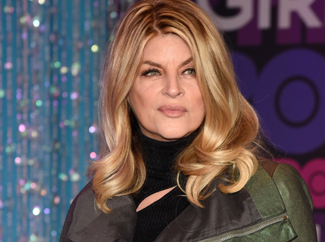 "Cougar Alert! Kirstie Alley Says She Wants To ""Make Out With Justin Bieber"""
