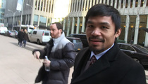 Manny Pacquiao -- Hey Floyd Mayweather ... SIGN THE CONTRACT ALREADY!