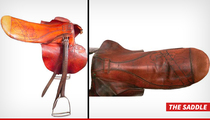 Seabiscuit -- Legendary Saddle Auctioned Off ... Rakes In $104k!