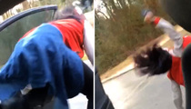 Crazy Twerker on Vine -- Falls Out Of Moving Car ... Escapes With a Scratch