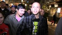 Manny Pacquiao -- TEAM MOVIE NIGHT ... 'I've Got a Particular Set of Skills ...'