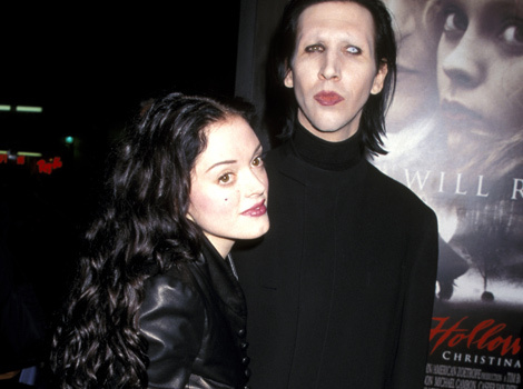 Marilyn Manson Reveals Which Musician Warned Him About Dating Rose McGowan