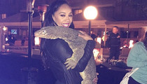 NFL Pro Bowl -- Wives Dragon Players to Wild Welcome Party