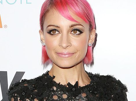 Nicole Richie Dyes Her Hair Pink -- Like the Look?