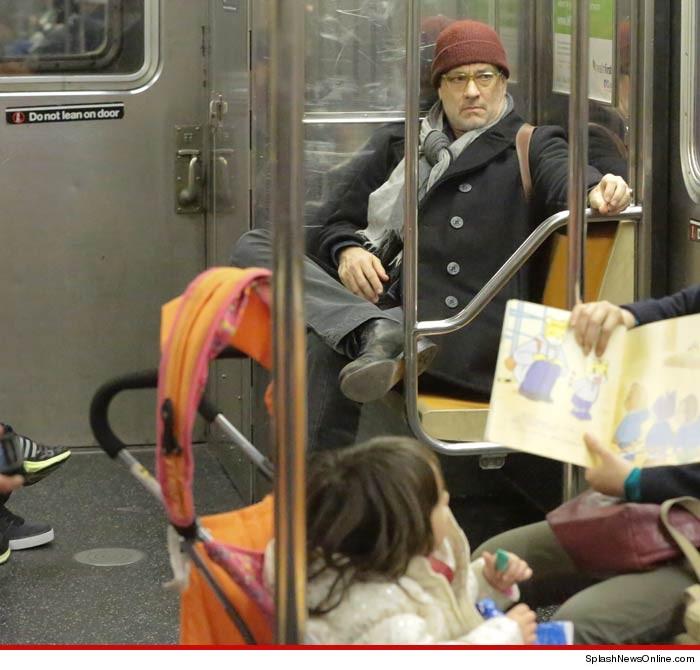 Tom hanks apollo 1 train for Tmz tour new york city