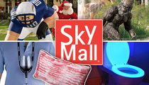 SkyMall -- Goes Bankrupt ... Get Bacon Pillow While You Can (TMZ TV)