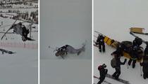 X Games Aspen -- Skier Henrik Harlaut KO'ed ... After SCARY Wipeout!! (VIDEO)