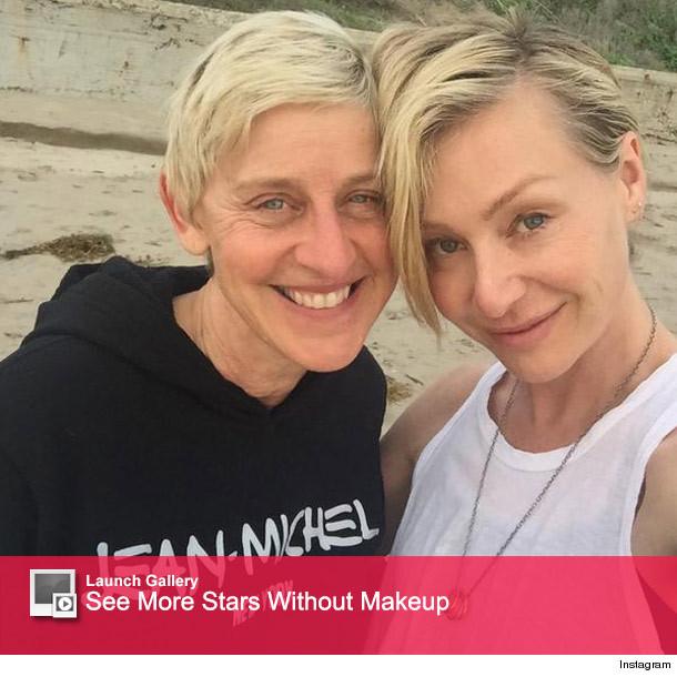 Ellen DeGeneres Shares Sweet, Makeup-Free Photos with ...