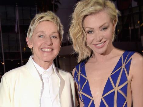 Ellen DeGeneres Shares Sweet, Makeup-Free Photos with Portia de Rossi