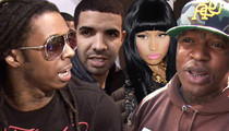 Lil Wayne -- When I Leave Cash Money ... I'm Taking Drake & Nicki Minaj With Me