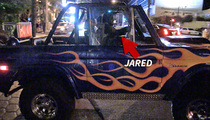 Jared Leto -- So Damn Cool ... Uncool Ride Gets a Pass