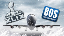 New England Airport -- Adding Emergency Super Bowl Flights ... To Get Fans to PHX