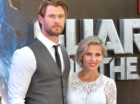 Chris Hemsworth's Adorable Twin Boys Hold Hands -- See the Sweet Pic!