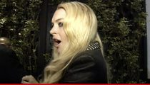 Lindsay Lohan -- Pisses Off Prosecutor ... Greeting Fans Doesn't Count As Community Service!!
