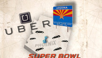 Uber Drivers -- Mass Exodus To Phoenix For Super Bowl $$$