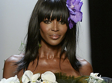 Naomi Campbell, 44, Owns the Runway During Paris Fashion Week
