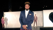 NFL's Odell Beckham Jr. -- I'm a Model Now ... Hits Runway With NFL Stars