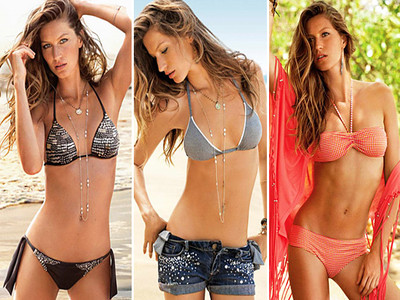 Gisele's Insane Post-Baby Bikini Bod