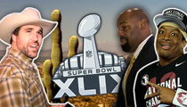 Super Bowl XLIX -- Cowboys Rule ... Even Ones from Chicago (TMZ TV)
