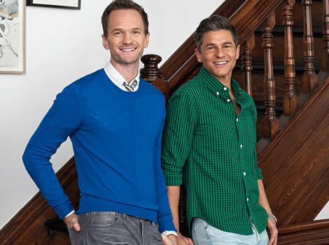 Neil Patrick Harris Shows Off Impressive NY Brownstone In Architectural Digest