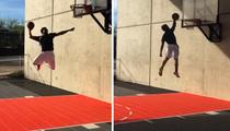 Odell Beckham Jr. -- Hey LeBron ... Watch Me Dunk!!