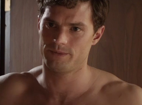 "Jamie Dornan Shows Off Buff Biceps -- Plus, See New ""Fifty Shades"" Clip!"