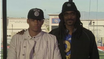 Cordell Broadus -- SNOOP'S SON PICKS UCLA ... Will Play with Diddy's Son