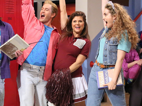 "Time Out! This Is the Best ""Saved by the Bell"" Reunion Ever"