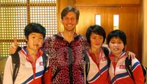 North Korea -- Ping Pong Diplomacy ... With U.S. Table Tennis Star