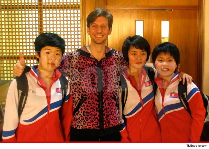view download images  Images North Korea -- Ping Pong Diplomacy ... With U.S. Table Tennis Star | TMZ.com