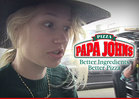 Iggy Azalea -- Puts Papa John's Drivers ON BLAST ... They're Pizzas of Crap!!