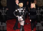 Madonna -- Ass Cheeks Out ... Squeeze 'Em Easy!