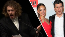 'Silicon Valley' Star T. J. Miller -- Rips Uber Honcho & His GF With Racial Jokes (TMZ TV)