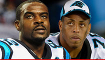 Carolina Panthers WR -- I'd Welcome Greg Hardy Back ... 'Deserves 2nd Chance'