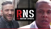 Julian Edelman -- Meeting with Roc Nation Sports