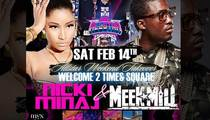 Nicki Minaj and Meek Mill -- Touring Together As 'Hottest Rap Couple'