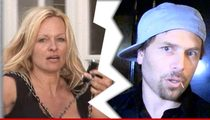 Pamela Anderson -- Hey Rick, I'm Out! Files For Divorce Again