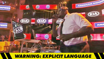 Shaq -- Accidentally Plays N-Bomb Song ... During 'Inside the NBA'