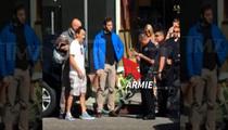 Armie Hammer -- Confronts 'Reckless' Ferrari Driver ... Cops Called